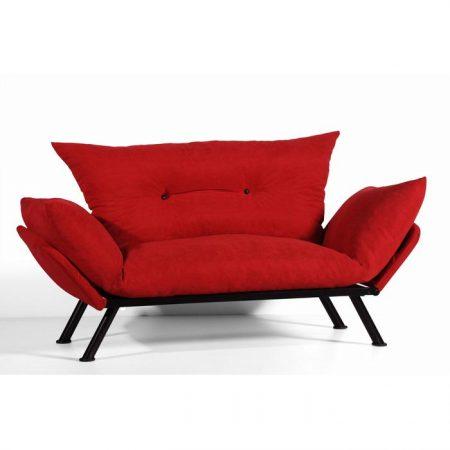 Canapea extensibila Doga, rosie