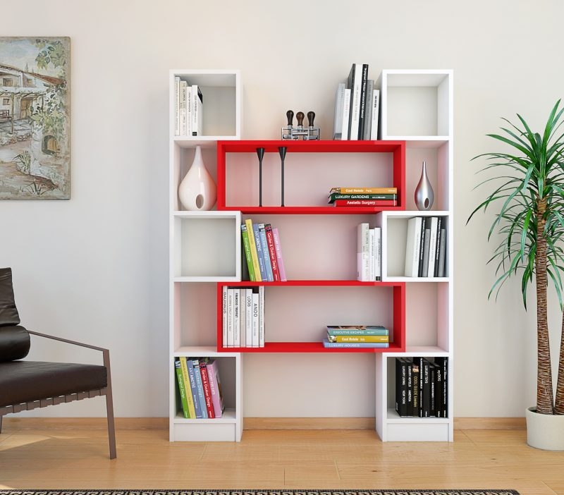 Biblioteca de living