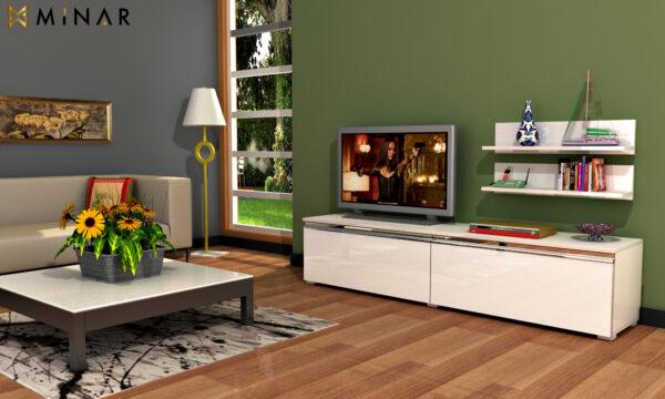 Set Comoda + Rafturi TV Ilgin
