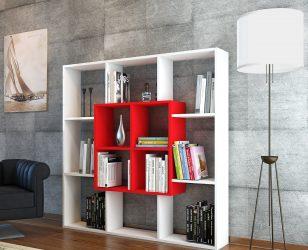 Biblioteca Leef, Alb-rosu