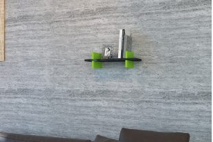 Raft perete Mira, Negru-verde