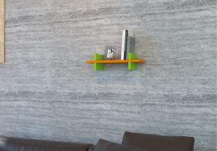 Raft perete Mira, Portocaliu-verde