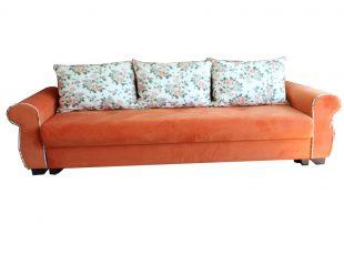 Canapea extensibila Eliza, portocalie