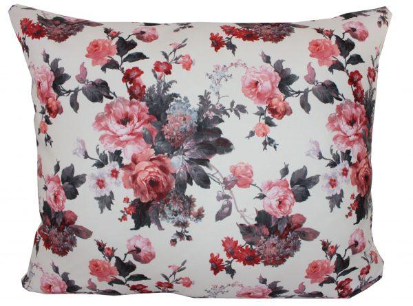 Set Perne Decorativ rosu alb alx