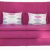 Canapea extensibila Tango, roz