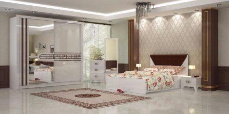 Dormitor Azra, alb