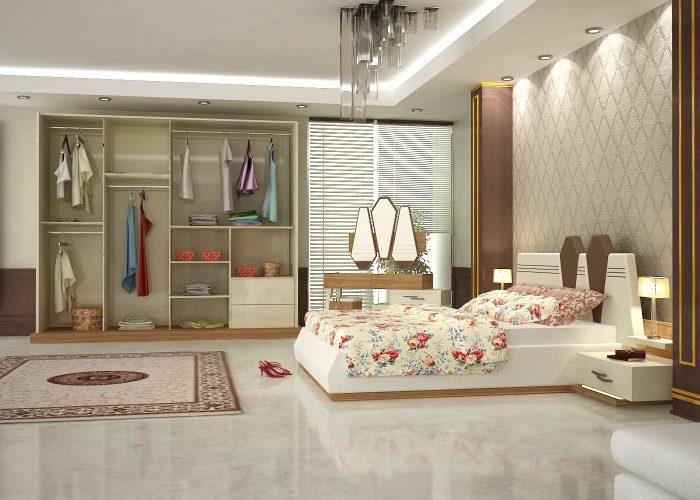 Dormitor matrimonial modern Asya