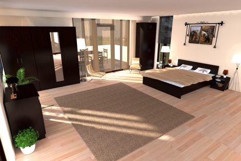 Dormitor Soft, Wenge