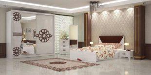Dormitor Roza, alb