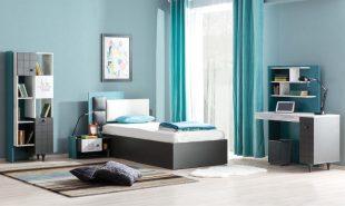 Dormitor Tineret Star Turkuaz