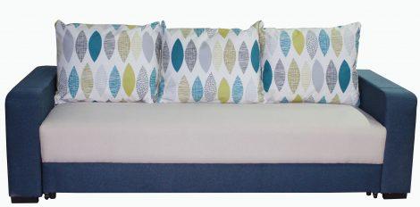 Canapea extensibila Alpha, Textil, Albastru