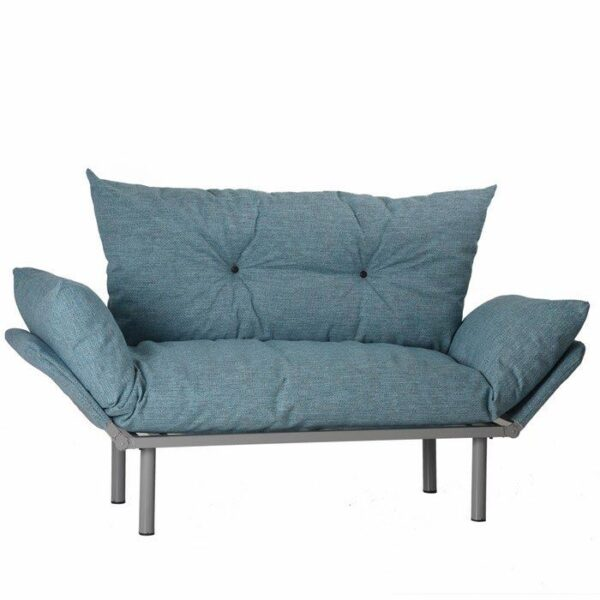Canapea extensibila, doga,1580x630x900mm, blue