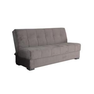 Canapea extensibila Lora, cu lada, maro