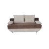 Canapea extensibila Mira, cu lada, maro