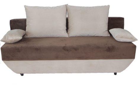 mobila pentru living- canapele extensibile maro