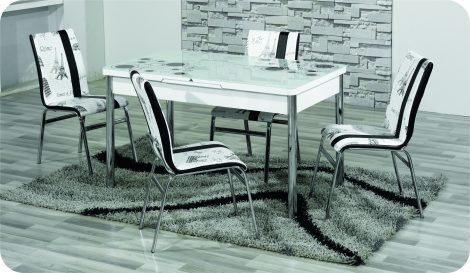 Set Masa Extensibila cu 4 scaune,Elt 01,masa