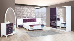 Dormitor Artemis alb mov