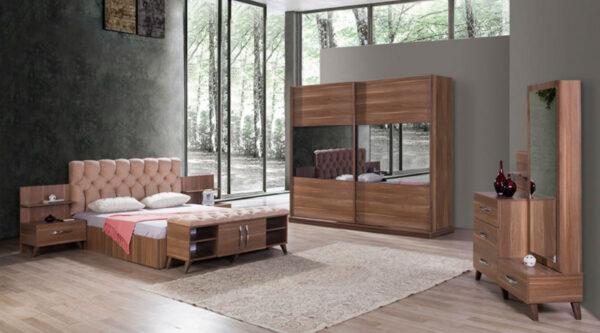 Dormitor Karel din nuc