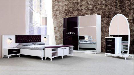 Dormitor Artemis alb negru