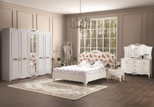 Dormitor Cont alb