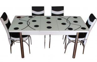 Set Masa Extensibila cu 4 scaune