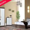 Dormitor Eveline Sifonier + pat+comoda+2 noptiera