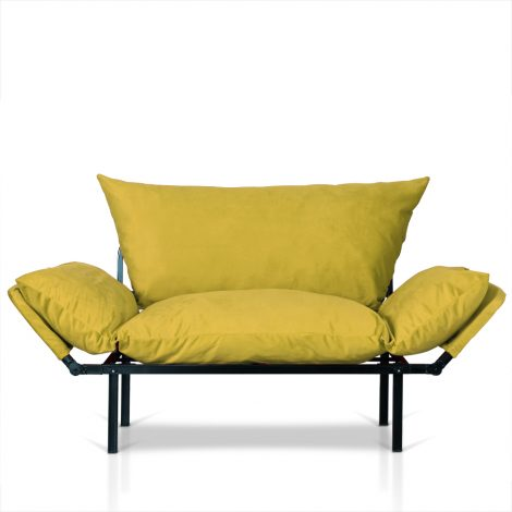 canapele extensibile galben