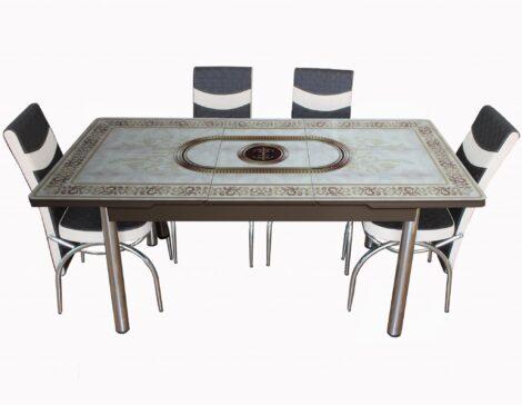 Set Masa Extensibila cu 4 scaune, madeleon