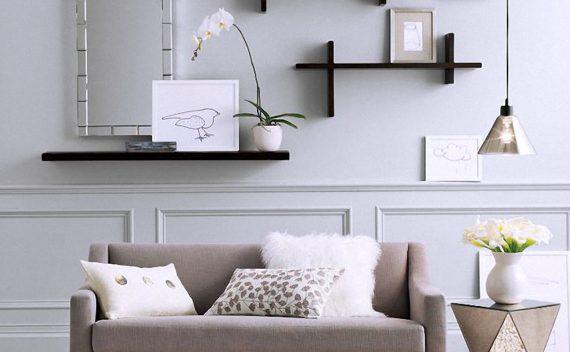 Raft de perete ieftin si modern pentru case perfect utilate