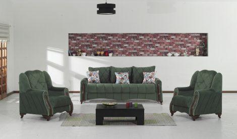 set canapea si fotolii- mobila pentru living