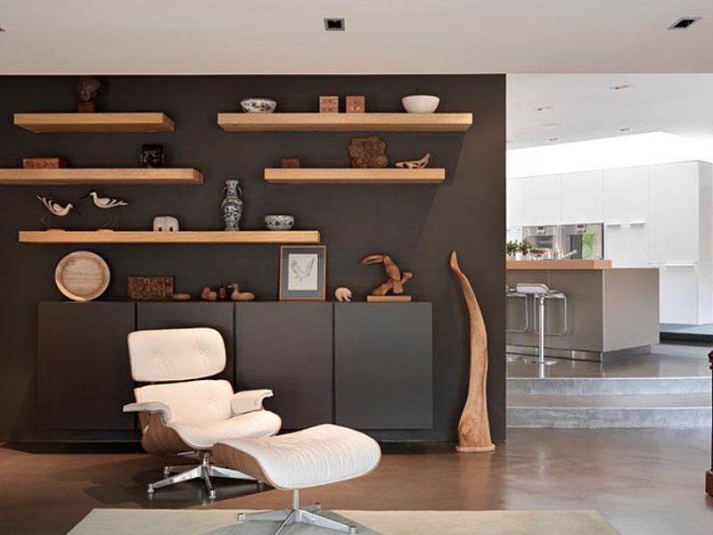 Cum sa-ti creezi un decor modern cu un set de rafturi de perete