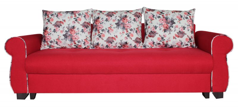 canapele extensibile rosii