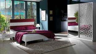 Dormitor Maia Alb