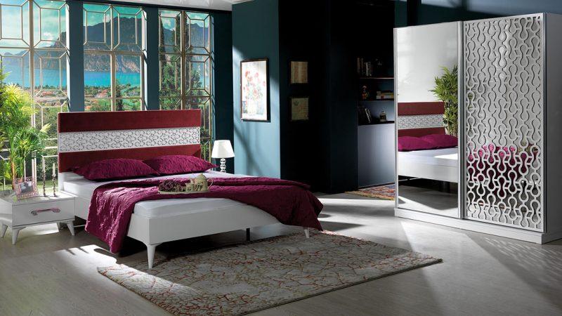 mobilier pentru dormitor alb