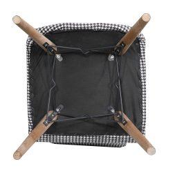 Set Masa Extensibila cu 6 scaune,Elegant Grena