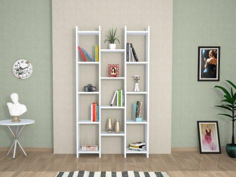 biblioteca de lemn teo