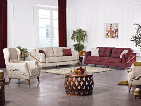 Set canapea 3 loc+2 fotolii Azra