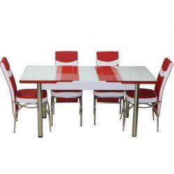 Set masa extensibila cu 6 scaune Modella
