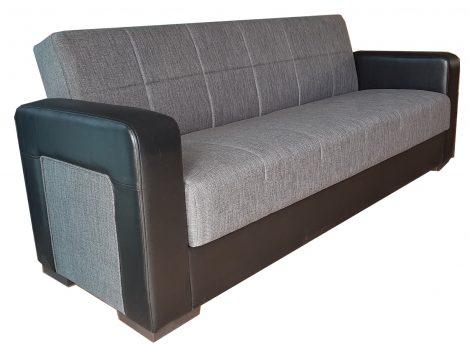 Canapea extensibila cu lada depozitare Mona