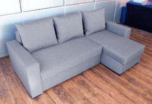 Coltar extensibil Rileft Sofa Gri