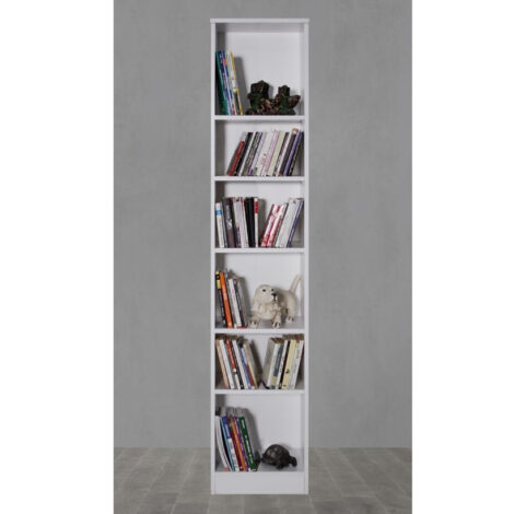 Bibliotecă Modella Modul 40 cm - Alb