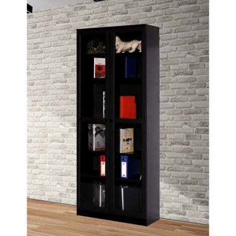 Bibliotecă Modella Ceti Soft Negru