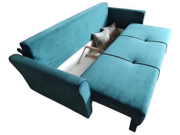 Canapea extensibila Rapsody Modela verde